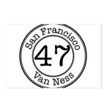 Circles 47 Van Ness Postcards (Package of 8)