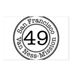 Circles 49 Van Ness-Mission Postcards (Package of