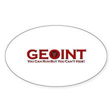 Redbull GEOINT Oval Decal