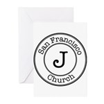 Circles J Church Greeting Cards (Pk of 20)