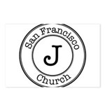Circles J Church Postcards (Package of 8)