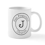 Circles J Church Mug