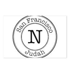 Circles N Judah Postcards (Package of 8)