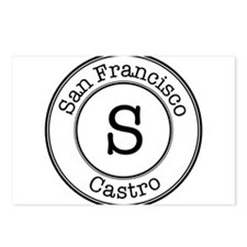 Circles S Castro Postcards (Package of 8)