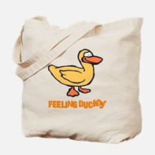 FEELING DUCKY Tote Bag