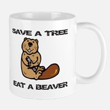 EAT A BEAVER Mug