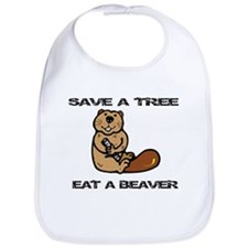 EAT A BEAVER Bib