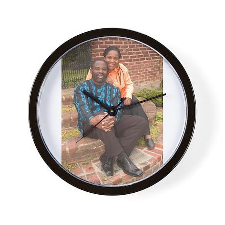 Philip and Dale Emeagwali Wall Clock