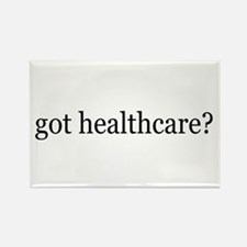 got healthcare? (Pubic Option) Rectangle Magnet