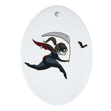 Batgirl Oval Ornament
