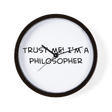 Trust Me: Philosopher Wall Clock