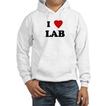 I Love LAB Hooded Sweatshirt