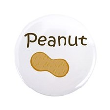 "Peanut 3.5"" Button (100 pack)"