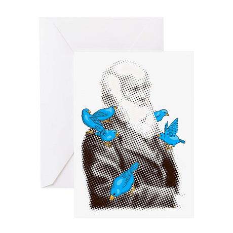 Darwin's Finches Greeting Card