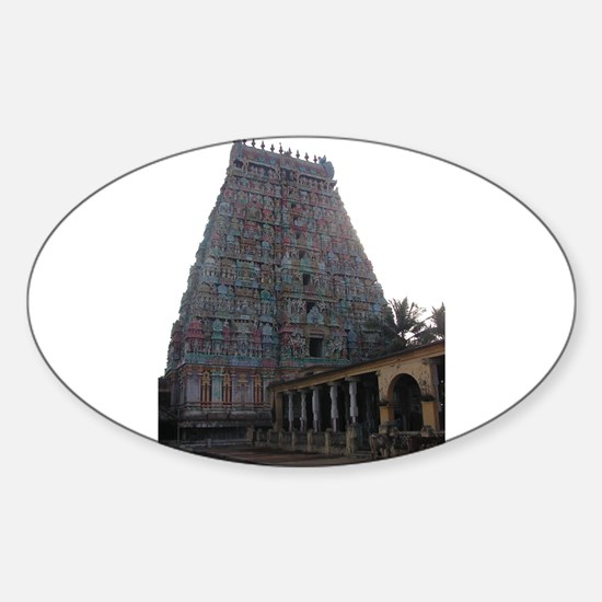 Adi Kumbeswarar Temple Oval Decal