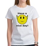 Vulcan Smiley Women's T-Shirt