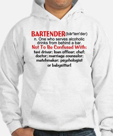 Bartender Definition Jumper Hoody