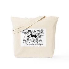 Black Cycles Tote Bag