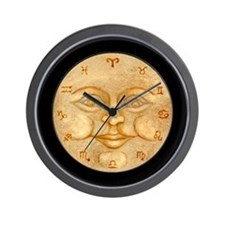 Full Moon Zodiac Wall Clock