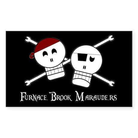 Furnace Brook Marauders Logo Sticker