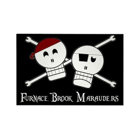 """Furnace Brook Marauders"" Logo Magnet"