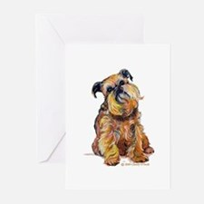 Brussels Griffon Greeting Cards (Pk of 20)
