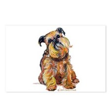 Brussels Griffon Postcards (Package of 8)