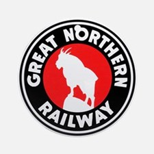 Great Northern Round Ornament