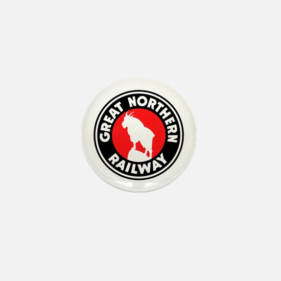Great Northern Mini Button