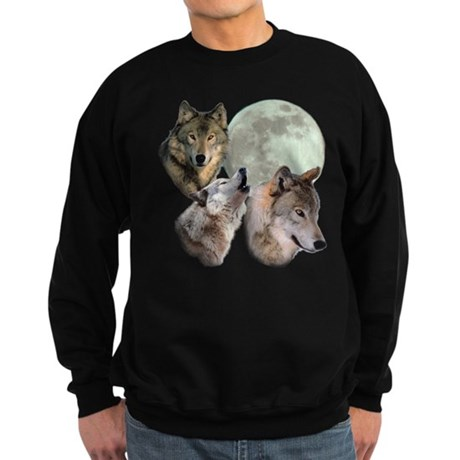New Moon Wolf Sweatshirt (dark)