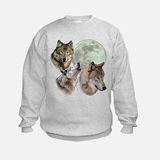 New Moon Wolf Sweatshirt