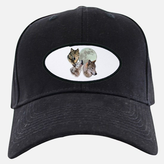 New Moon Wolf Baseball Hat