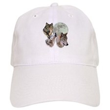 New Moon Wolf Baseball Cap