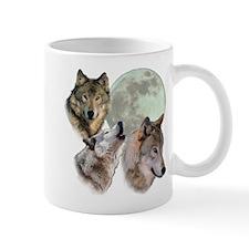 New Moon Wolf Mug