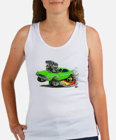 Dodge Challenger Green Car Women's Tank Top