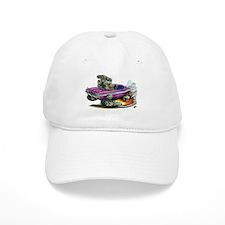 Dodge Challenger Purple Car Baseball Cap