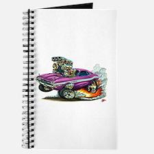 Dodge Challenger Purple Car Journal