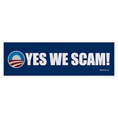 Yes We Scam! Bumper Sticker (50 pk)