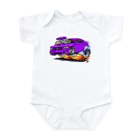 Dodge Charger Purple Car Infant Bodysuit