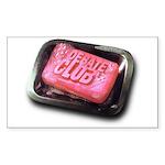 Debate Club - Rectangle Sticker