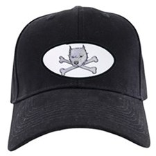Pit Bull and Crossbones Baseball Hat