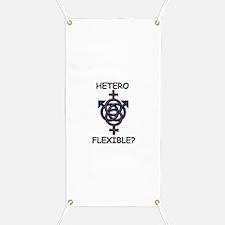 HETROFLEXIBEL SWINGERS SYMBOL Banner