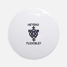 HETROFLEXIBEL SWINGERS SYMBOL Ornament (Round)
