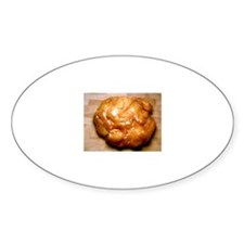 Apple Fritter Oval Decal