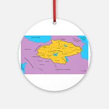 Arsacid / Arshakuni Map Ornament (Round)