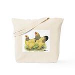 Buff Brahma Pair Tote Bag