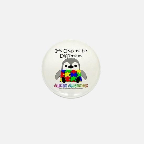 AA Penguin Mini Button