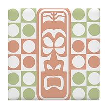 Tiki Dots Tile Coaster