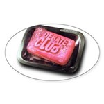 Debate Club - Oval Sticker