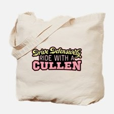 Ride With a Cullen Tote Bag
